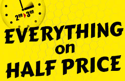 No chance for time thieves: Chat one hour for half price now!