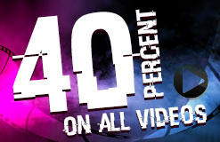 MEGAGEIL! Only today there is a huge 40% discount on all videos!
